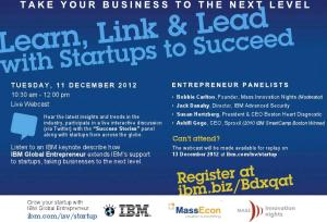 Learn, Link & Lead with IBM Global Entrepreneur