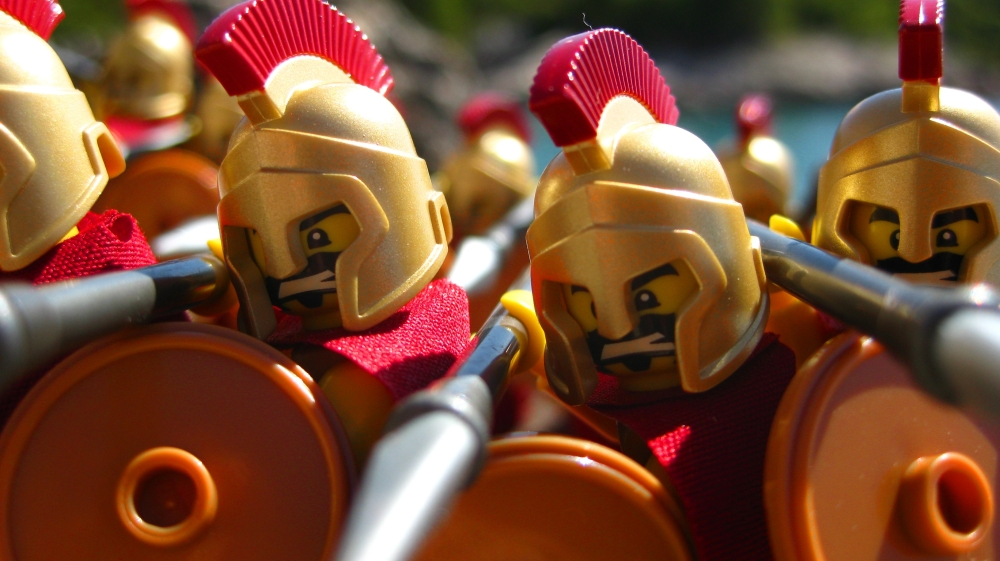 Lego Spartans