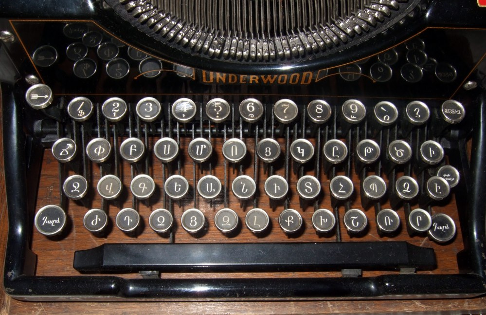 The era of the typewriter and the future of writing